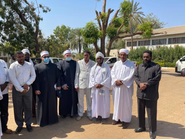قافلة الأوقاف فى السودان  (2)