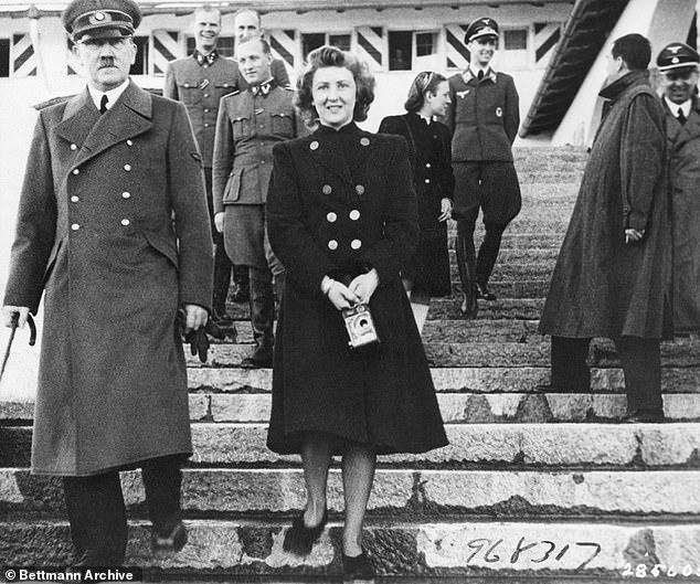 هتلر وعشيقته