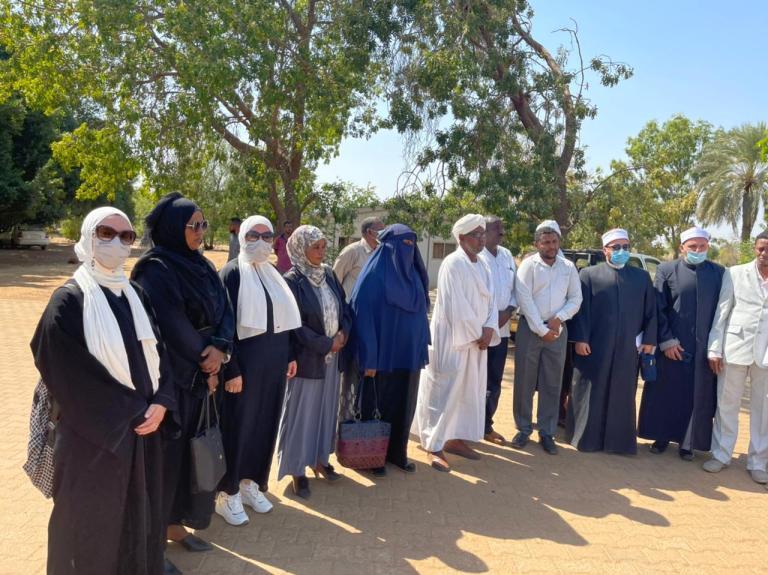 قافلة الأوقاف فى السودان  (4)