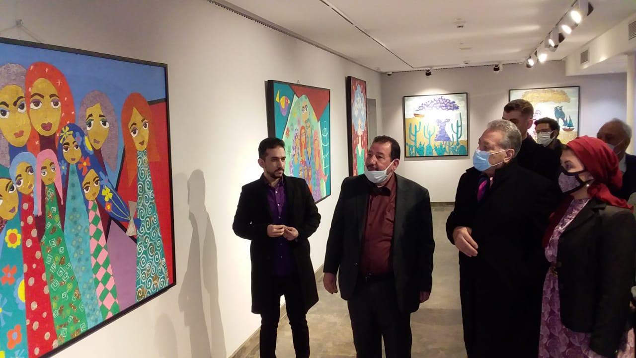 الفنان أحمد نوار