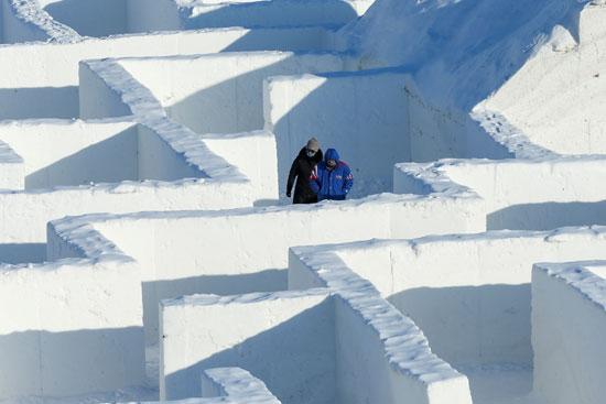 أسوار المتاهة الثلجية