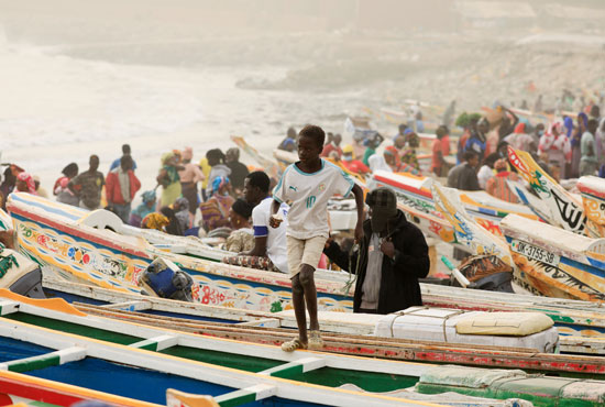 سحابة ترابية كبيرة تخنق عاصمة السنغال وتعطل صيد الأسماك (6)