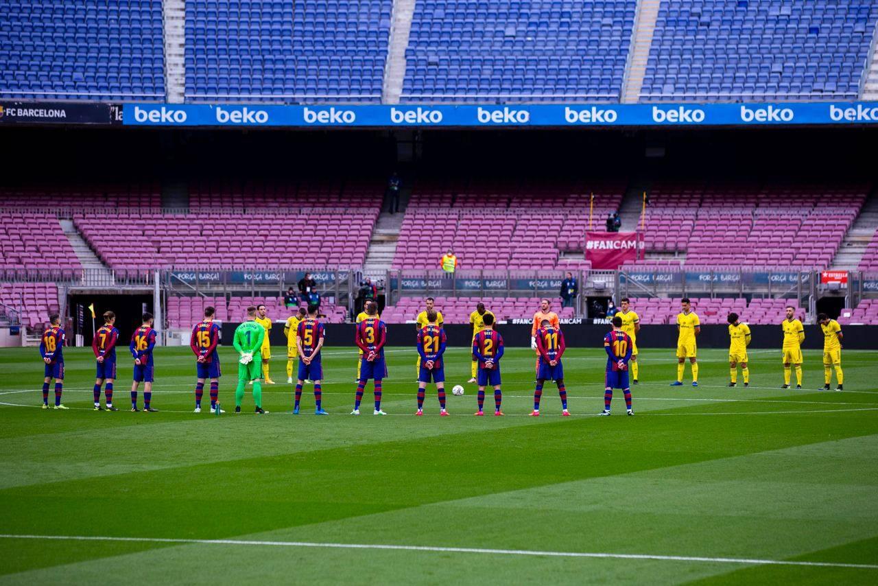 برشلونة وقادش قبل المباراة