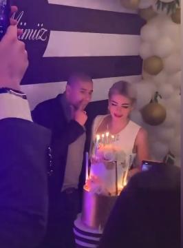 محمد زيدان وزوجتة - عيد ميلاد
