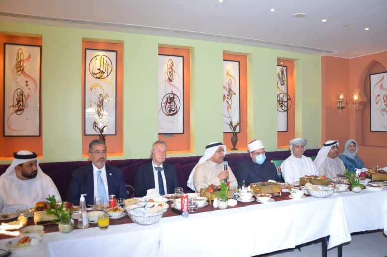 لقاء وزير الأوقاف ورئيس البرلمان العربى