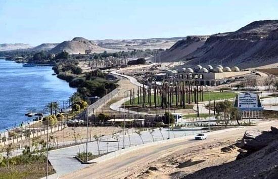 مشروع-الشريط-النهرى-بمدينة-أسوان-الجديدة
