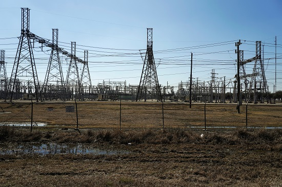 شبكة الكهرباء فى تكساس