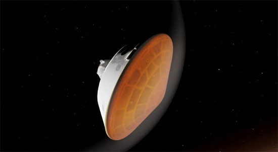 مركبة برسفيرنس تصل  المريخ  (1)