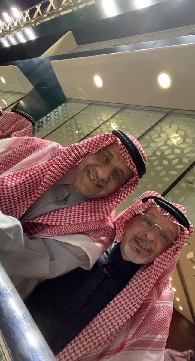 احمد قطان والامير خالد بن سلطان