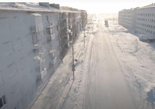 شوارع المدينة مهجورة