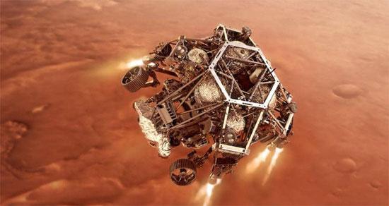 مركبة برسفيرنس تصل المريخ (6)