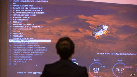 مركبة برسفيرنس تصل  المريخ  (2)