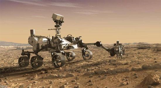 مركبة برسفيرنس تصل  المريخ  (5)