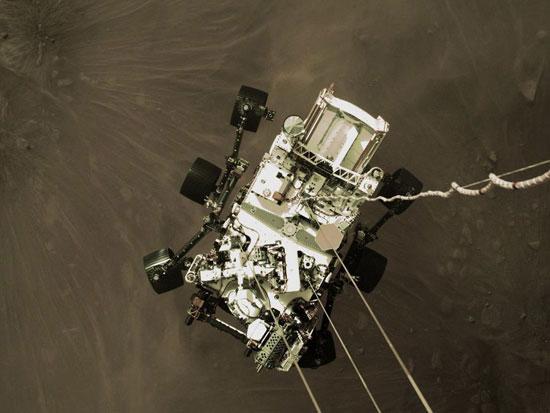 مركبة برسفيرنس تصل  المريخ  (7)