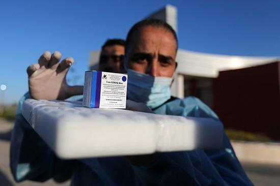 التطعيم في فلسطين