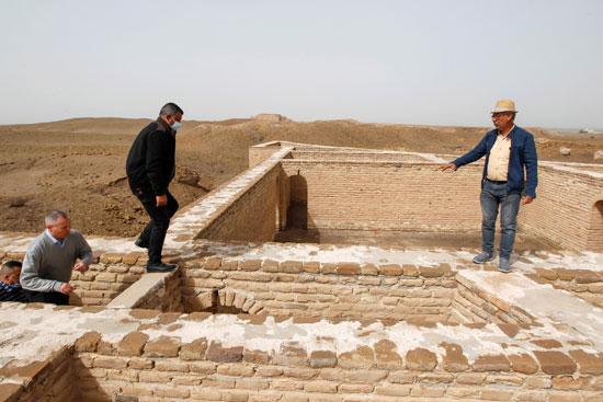 استقبال بابا الفاتيكان فى العراق (9)