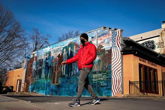 جرافيتى رؤساء أمريكا (2)