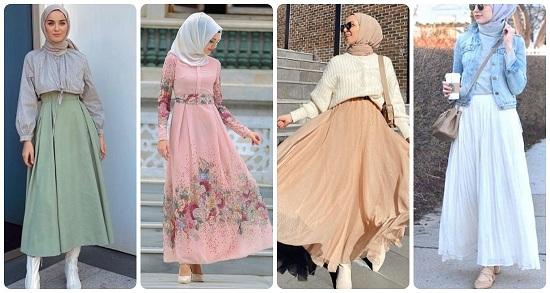ملابس محجبات لربيع 2021