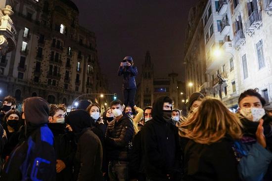 مظاهرات إسبانيا
