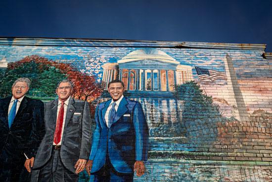 جرافيتى رؤساء أمريكا (12)