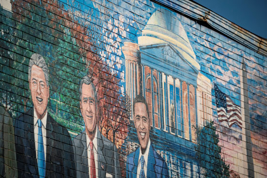 جرافيتى رؤساء أمريكا (13)