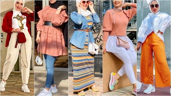 ملابس محجبات لربيع 2021 (4)