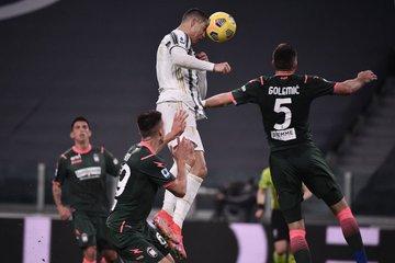 رونالدو خلال المباراة