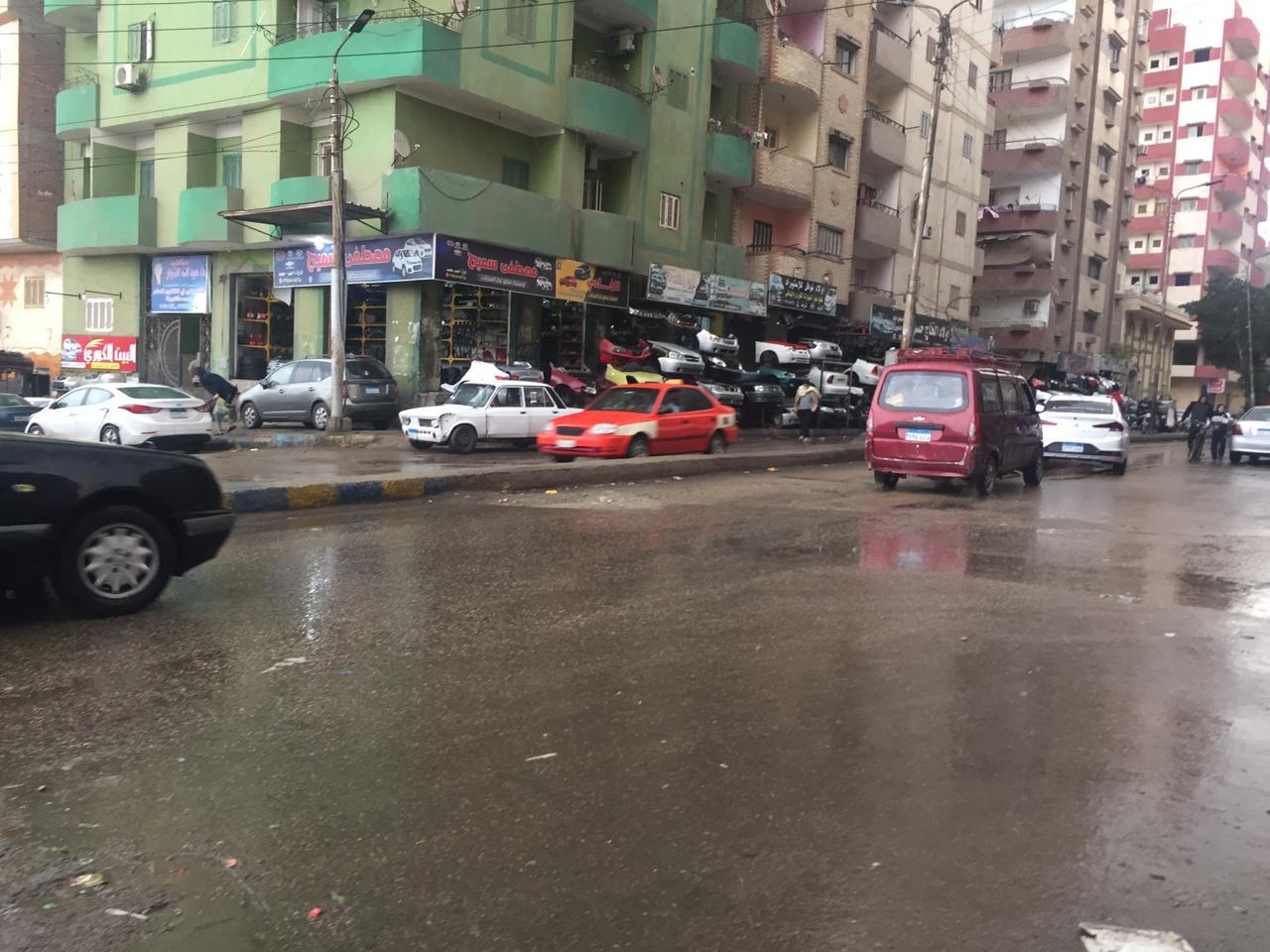 أمطار في بورسعيد