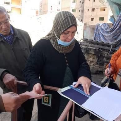 تحصيل رسوم ومتأخرات النظافة على الأسواق فى بورسعيد (3)