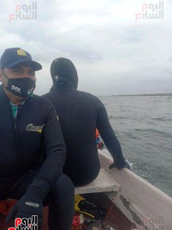 اعمال-الانقاذ-ببحيرة-مريوط