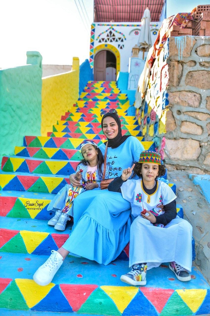 رانيا مع اشهر انفلونسر خليجي