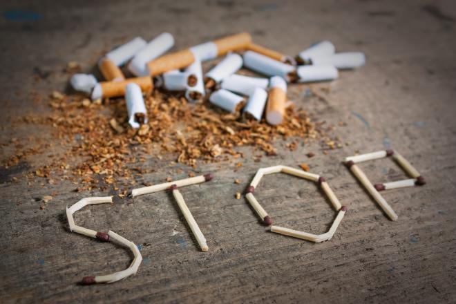توقف عن التدخين