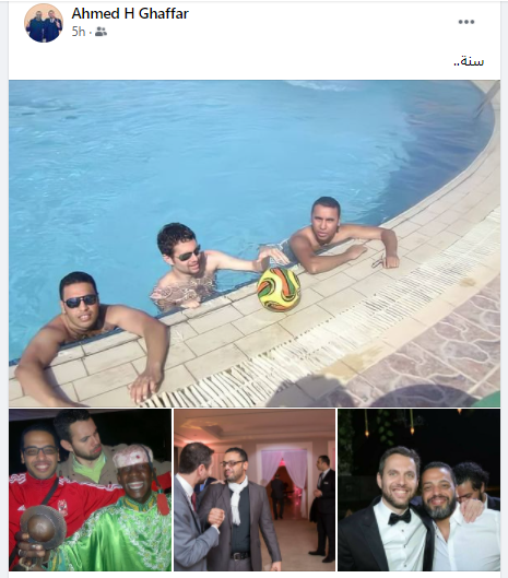 اصدقاء عمرو فهمي يحيون ذكري رحيله