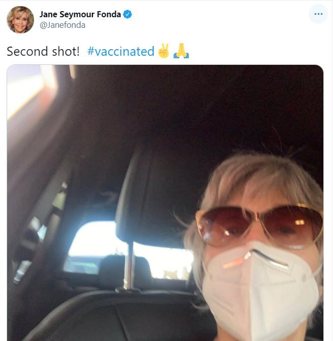 جين فوندا على تويتر