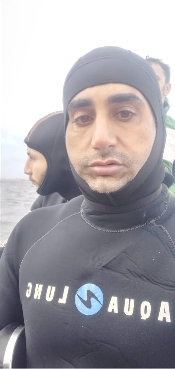 أثناء محاولة البحث عن الغرقى