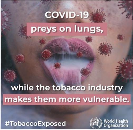 علاقة التدخين بفيروس كورونا