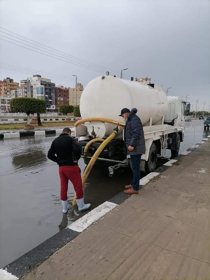 شفط مياه الامطار