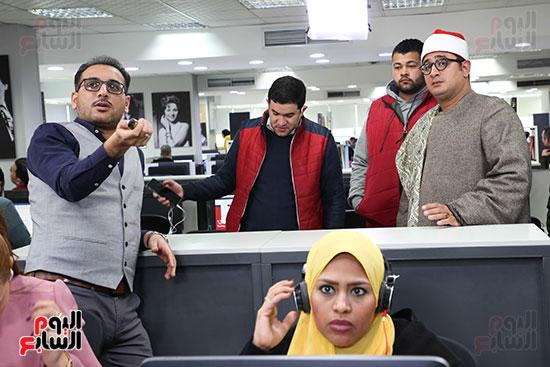 الزميل تامر اسماعيل يشرح تجربة تليفزيون اليوم السابع للشيخ محمود الشحات