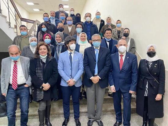 تعاون-بين-جامعة-جنوا-الإيطالية-وجامعة-مصر-للعلوم-والتكنولوجيا