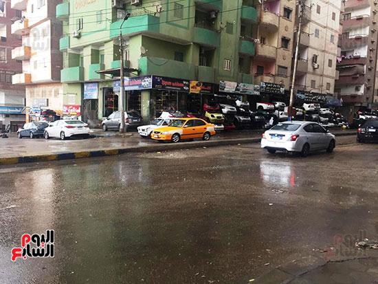 سقوط أمطار غزيرة وثلوج على الإسماعيلية (2)