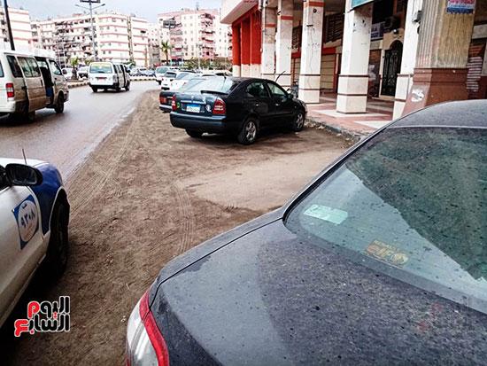 أمطار غزيرة وانخفاض شديد-فى درجة الحرارة ببورسعيد (2)