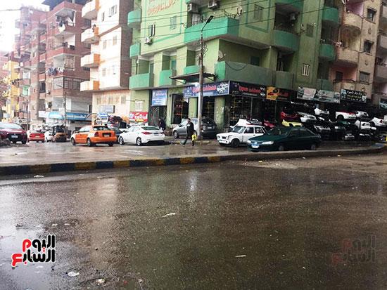سقوط أمطار غزيرة وثلوج على الإسماعيلية (3)