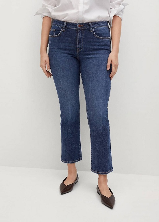بنطلون جينز قصير