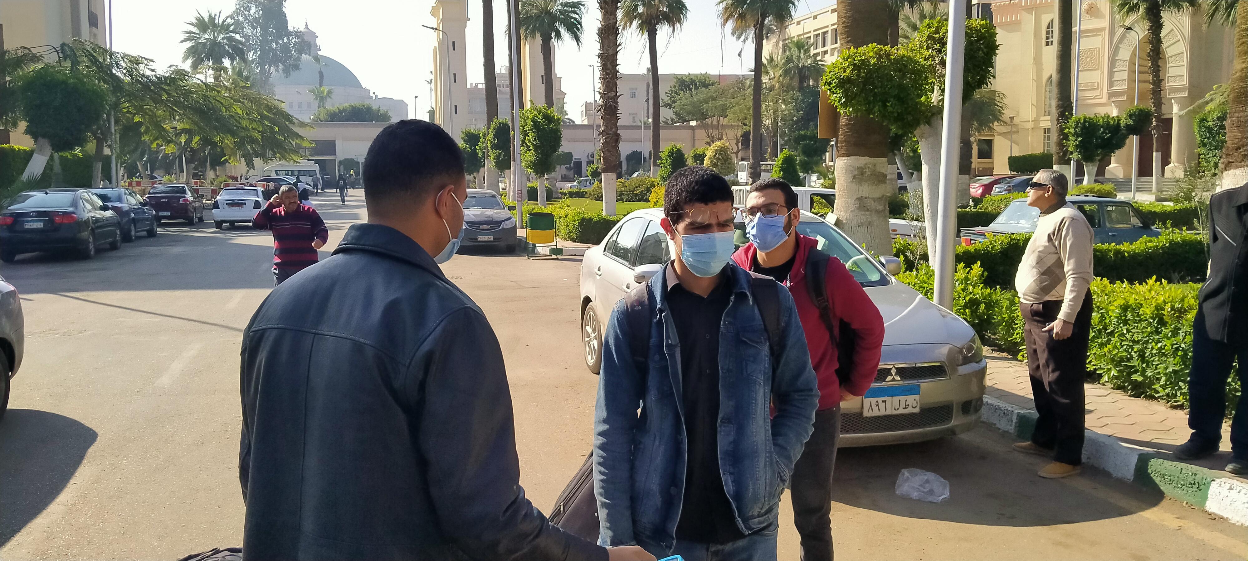مدينة الطلبة بجامعة القاهرة