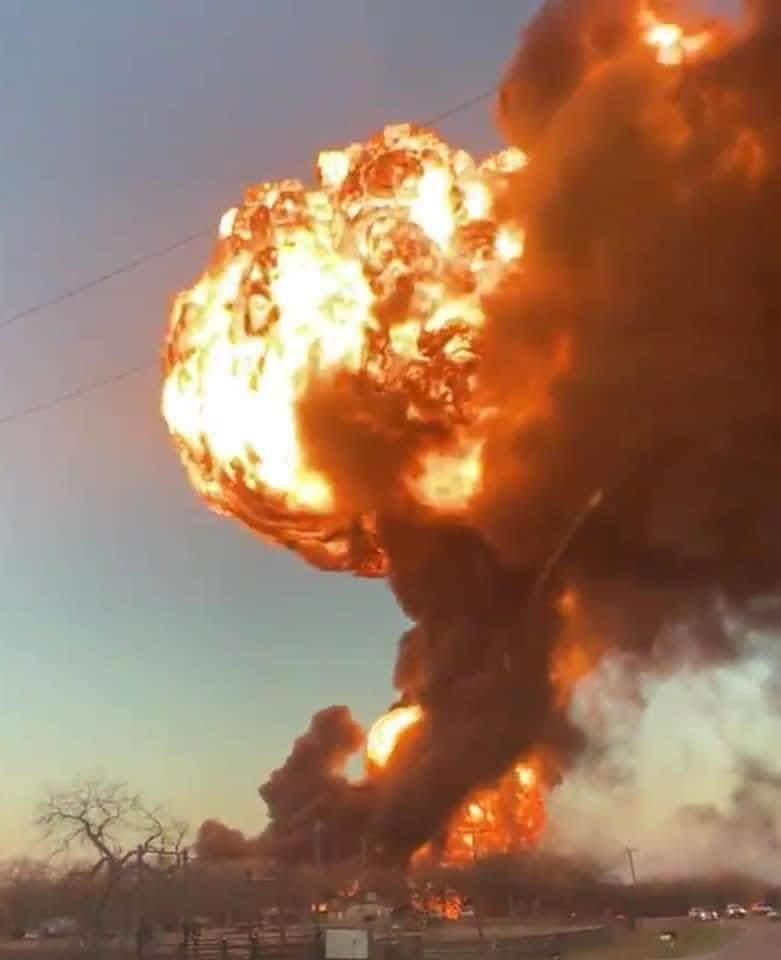 انفجار تكساس