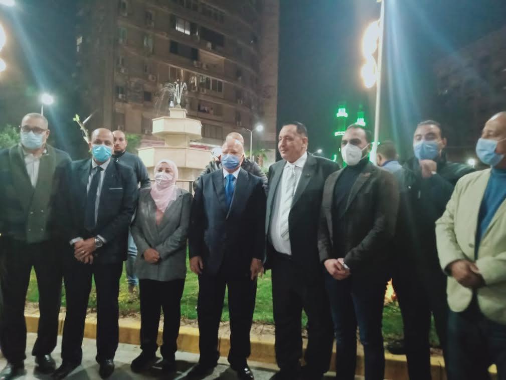 محافظ القاهرة وقيادات المحافظة