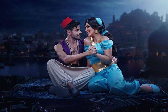 حمدي الميرغني مع زوجته