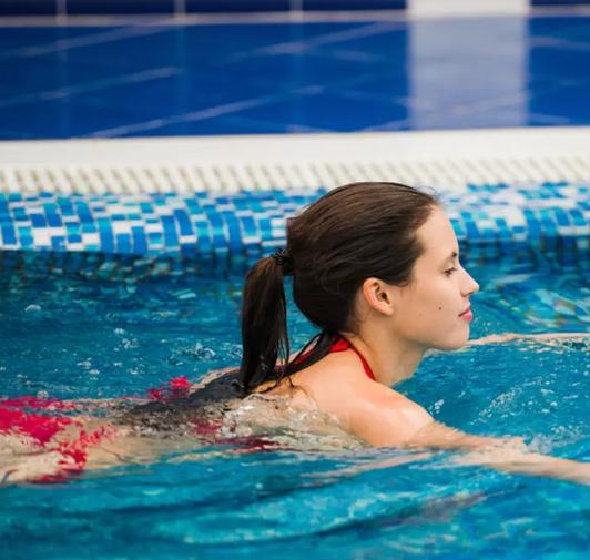 العناية بالشعر أثناء لسبحة