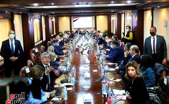 الأعلى للإعلام يعقد جلسة حوارية مع سامح شكرى