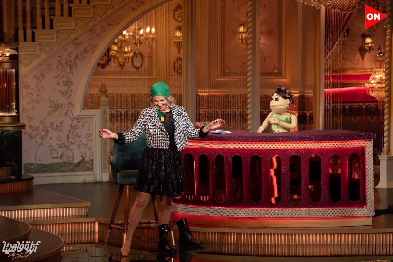 شيرين رضا ترقص مع ابلة فاهيتا